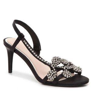 Kelly & Katie Satin Sandals size 7.5